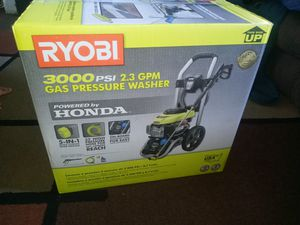 Ryobi 3000 psi 2.3 GPM gas power washer for Sale in Vallejo, CA