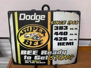 Dodge super Bee tin sign for Sale in Lakeland, FL