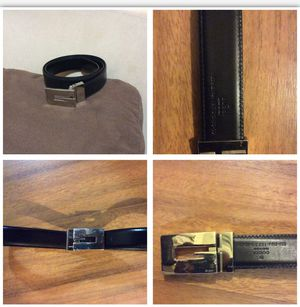 Reversible size 33 Brown/Black Gucci Belt for Sale in Miami Beach, FL