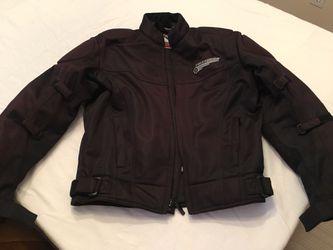 First Gear Black Motorcycle Jacket for Sale in Woodstock,  GA