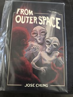 JOSE CHUNG X-FILES FROM OUTER SPACE NOTEBOOK  for Sale in Rialto, CA