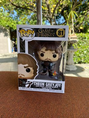 Funko Pop Theon Greyjoy Game Of Thrones for Sale in Los Angeles, CA