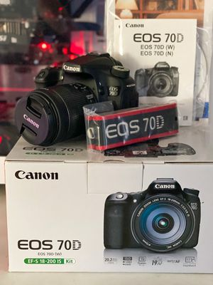 Canon 70D DSLR / 18-55MM for Sale in Morrisville, NC