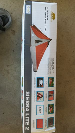 2 man backpacking tent brand new for Sale in Moreno Valley, CA