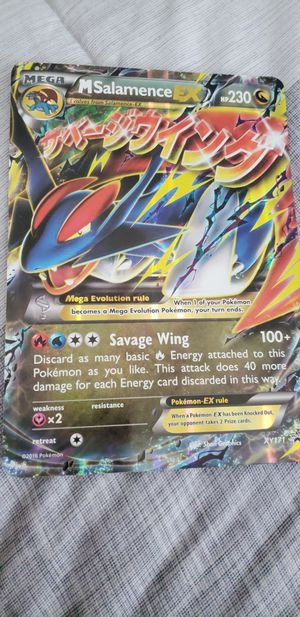 Large Pokemon collector's card for Sale in Philadelphia, PA