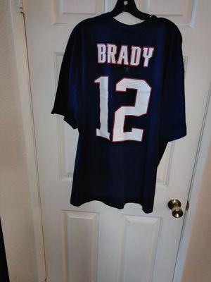NFL Majestic Patriots Brady #12 men's for Sale in Fontana, CA