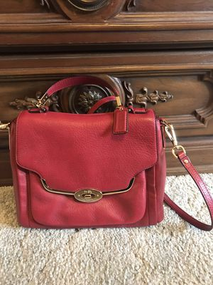 Red Coach bag for Sale in Tacoma, WA
