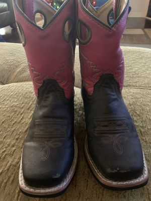 Girls Austin Cowgirl boots size 12 for Sale in El Paso, TX