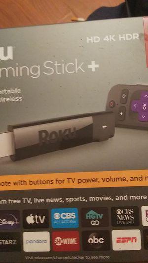 Roku streaming stick + for Sale in Saint AUG BEACH, FL