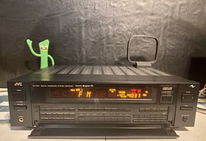 JVC RX-703VBK Digital Surround Stereo Receiver. for Sale in Milwaukee, WI