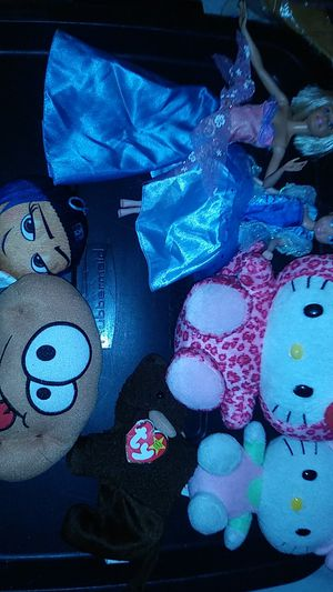 Beanie babys sanrio hello kitty.take all for $10 for Sale in Tracy, CA