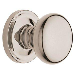 BALDWIN PRIV SOLID BRASS DOOR KNOB 5015.055 POLISHED NICKEL for Sale in Carrollton, TX