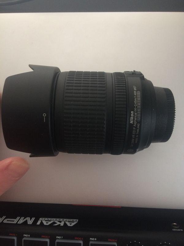 Nikon DX AF-S Nikkor 18-105mm camera lens