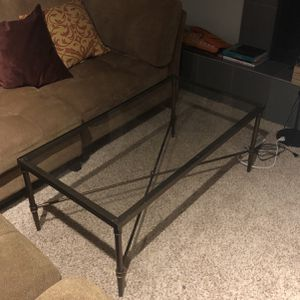 Glass Coffee Table for Sale in Seattle, WA