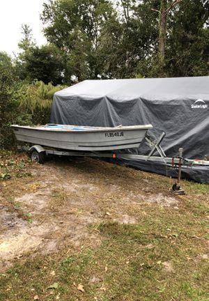 14 foot stumpnocker worth galvanized trailer for Sale in Lakeland, FL