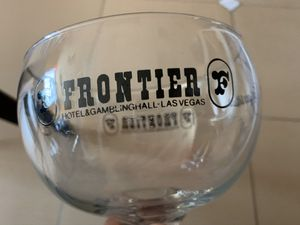 Vintage Frontier Casino Collectible Margarita Glass. for Sale in Las Vegas, NV