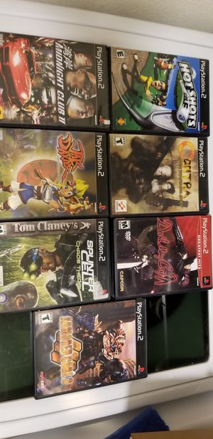 PS2 games for Sale in Clovis, CA
