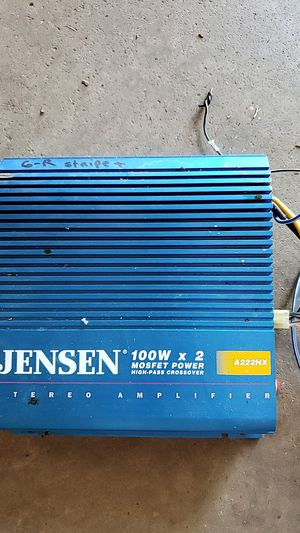 Jensen A222HX stereo amplifier for Sale in Rochester, PA