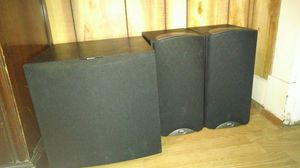 Klipsch speakers and Boston sub for Sale in Baltimore, MD