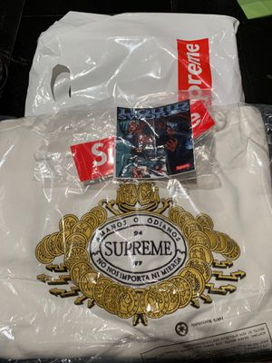 Supreme hoodie also came with exclusive stickers for Sale in Canonsburg, PA