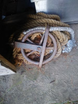 50 feet rope and wheeler for Sale in Bristol, CT