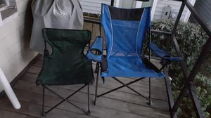 Two folding chairs for Sale in Houston, TX