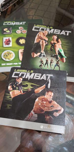 Les Miles Combat workout DVDs for Sale in Fort Walton Beach, FL