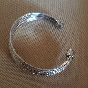 925 Sterling Silver Cuff Bracelet for Sale in Gilbert, AZ