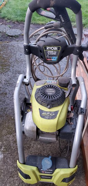 3100 psi pressure washer honda Ryobi for Sale in Vancouver, WA