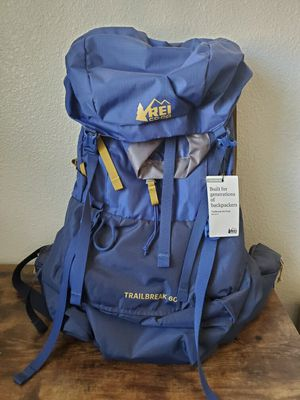 REI Trailbreak 60 Women's Backpack for Sale in Glendale, AZ