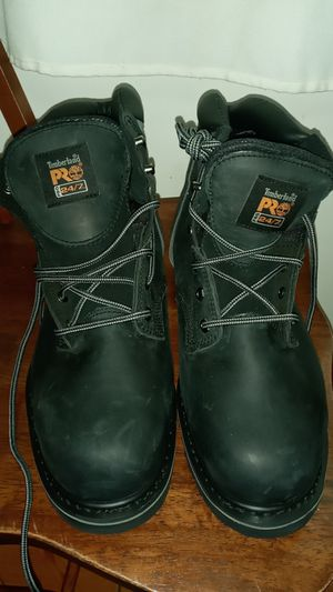 Timberland, size12M work boots. Black,never used but no box. for Sale in Queens, NY