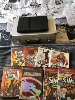 ✨PS2 w. Case and games FOR SALE ✨ for Sale in Silver Spring, MD