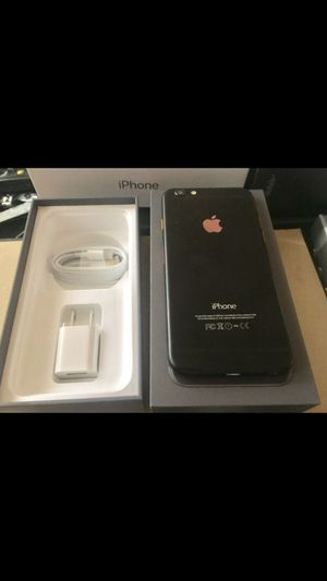 Apple iPhone 6 special addition black pick unlocked for Sale in Tacoma, WA