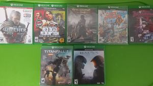 7 Xbox One games bundle for Sale in Batsto, NJ