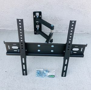 "(NEW) $22 Full Motion 26""-55"" TV Wall Mount Bracket Swivel Max Weight 100lbs, VESA 100-400mm for Sale in Whittier, CA"