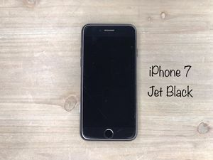Sprint 32GB Jet Black iPhone 7 Good Condition for Sale in Kearns, UT