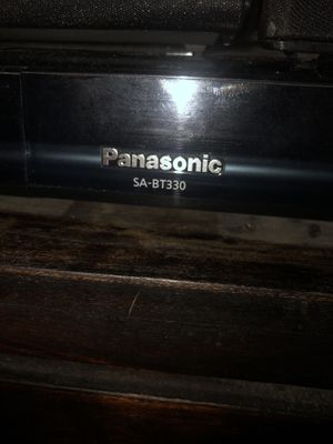 Panasonic 5.1 Surround Sound with Bluetooth and blue ray player for Sale in Burbank, CA