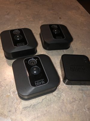 BLINK Security System 3-Camera Kit for Sale in Amesti, CA