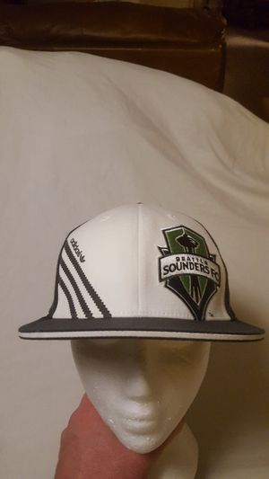 Seattle Sounders FC Soccer hat Adidas Flex fit style size S/M for Sale in Everett, WA