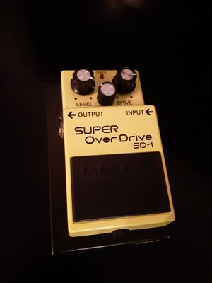 Boss SD-1 pedal for Sale in Spring, TX