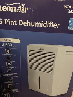Dehumidifier 45 Pint - Programabale for Sale in Tampa,  FL