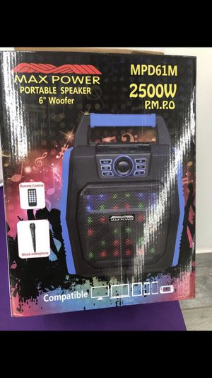 Portable speaker for Sale in San Antonio, TX