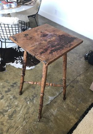Antique Rustic wood tall table for Sale in Santa Monica, CA