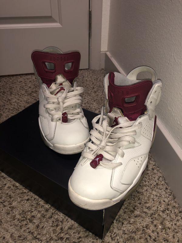 Jordan 6 Maroon