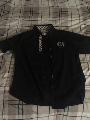 Original men's Burberry collar shirt for Sale in Butler, WI