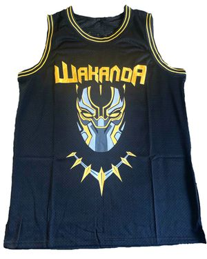 Exclusive Black Panther Wakanda Jersey Size M for Sale in Lanham, MD