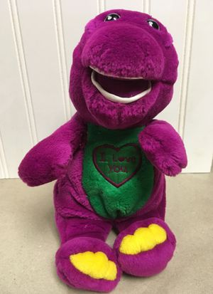 Barney plush singing toy , Nickelodeon for Sale in Clarks Summit, PA