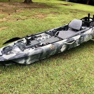 Kayak 3waters big fish 120 for Sale in Spring, TX