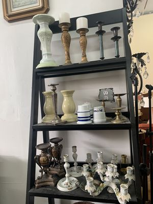 Candle stands and candle sticks and candelabras for Sale in Delray Beach, FL