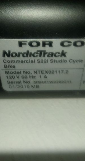Nordictrack S22i for Sale in Colorado Springs, CO